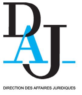 logo de la direction des affaires juridiques