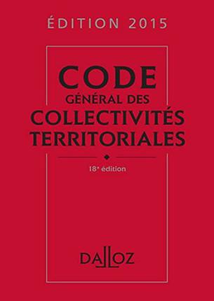 code des collectivités territoriales